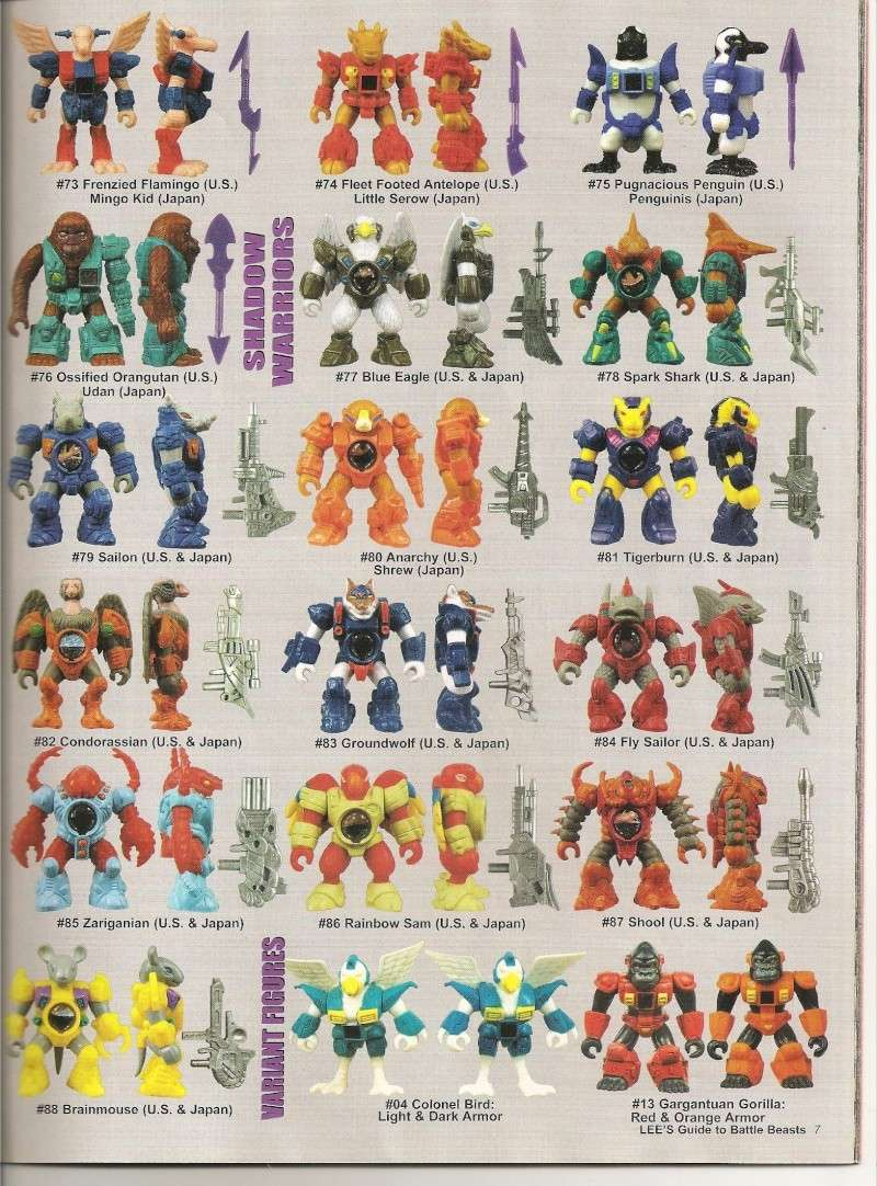 BATTLE BEASTS / Les Dragonautes (Hasbro, Takara) 1987-1988 Battle17
