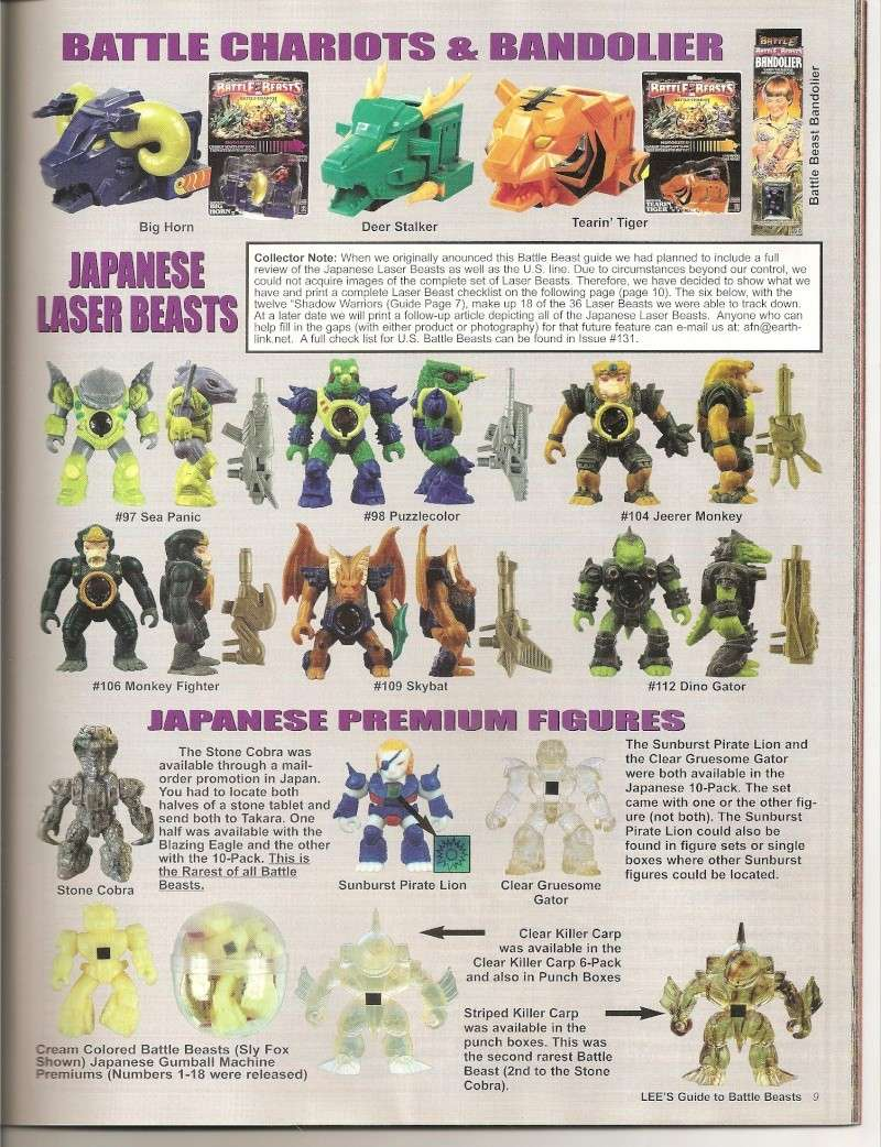 BATTLE BEASTS / Les Dragonautes (Hasbro, Takara) 1987-1988 Battle19