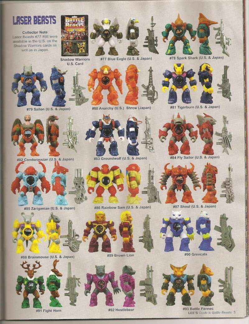 BATTLE BEASTS / Les Dragonautes (Hasbro, Takara) 1987-1988 Battle21