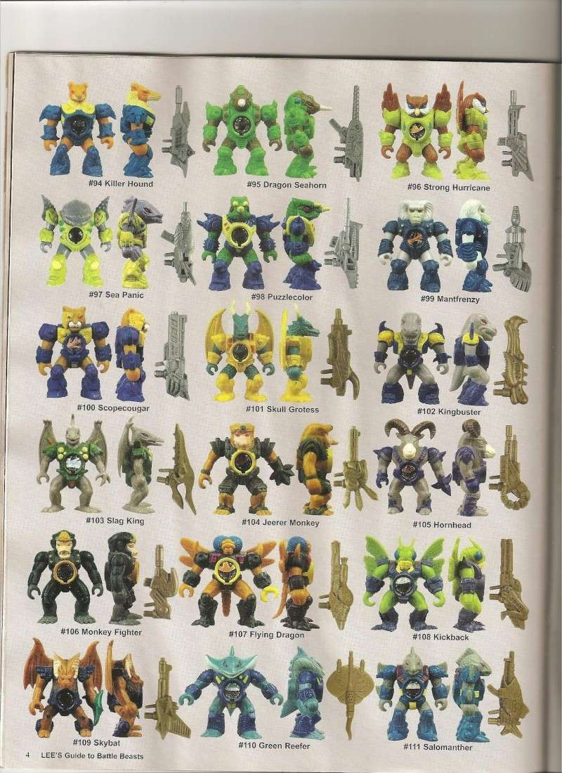 BATTLE BEASTS / Les Dragonautes (Hasbro, Takara) 1987-1988 Battle22