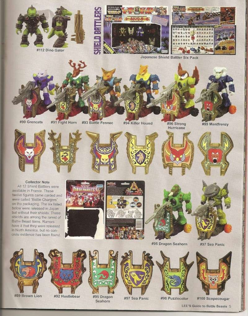 BATTLE BEASTS / Les Dragonautes (Hasbro, Takara) 1987-1988 Battle23