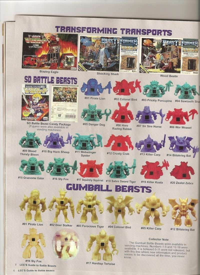 BATTLE BEASTS / Les Dragonautes (Hasbro, Takara) 1987-1988 Battle26