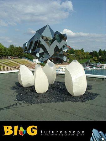 Les œuvres d'art, sculptures de Toutain, land art… - Page 12 42641511