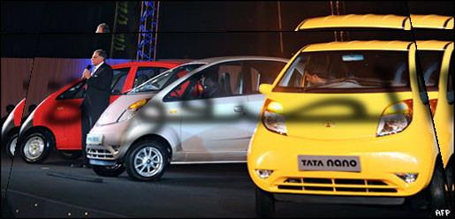 الهند تعرض أرخص سيارة في العالم _4559410
