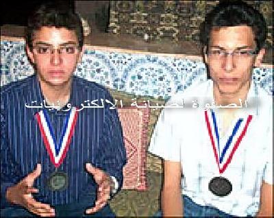 طالبان اردنيان يخترعان جهازا للتخلص من إشعاعات الأجهزة الكهربائية Teach-10