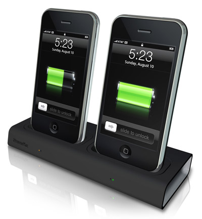 incharge duo le double chargeur pour iphone. Black Bedroom Furniture Sets. Home Design Ideas
