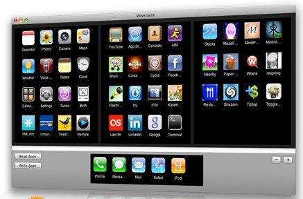Rangez et organisez vos applications iPhone directement depuis Mac Moveme10