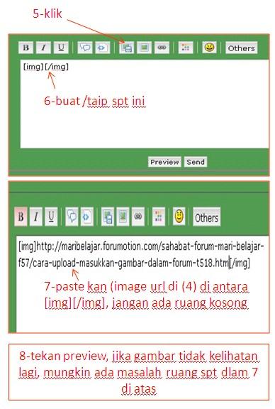 Cara upload/masukkan gambar dalam forum 810