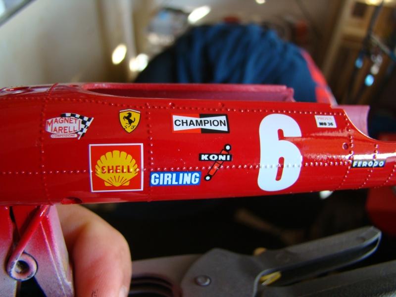 Ferrari 312F1, Chris AMON, Grand Prix de France, 1969. 1/20. Dsc03413