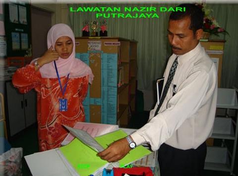 Lawatan Nazir dari Putrajaya - 2007 2009-010