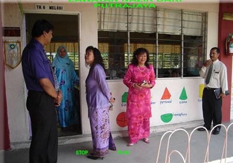 Lawatan Nazir dari Putrajaya - 2007 2009-012