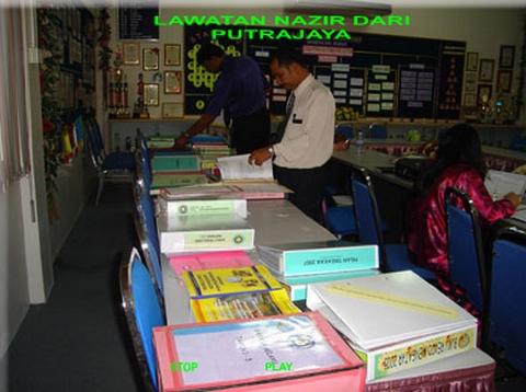 Lawatan Nazir dari Putrajaya - 2007 2009-015