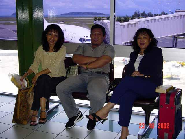 Johan Pertandingan 3K Peringkat Negeri Sabah 2002 Airpor11