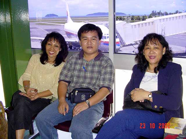 Johan Pertandingan 3K Peringkat Negeri Sabah 2002 Airpor12