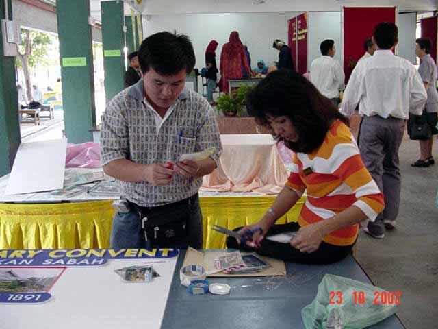 Johan Pertandingan 3K Peringkat Negeri Sabah 2002 Persed11