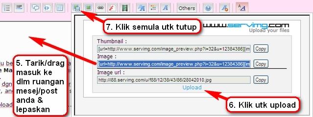 Cara upload (masukkan) gambar Upload12