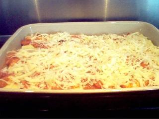 Manicotti porc et champignons, sauce rosée Photo_28