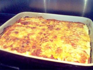 Manicotti porc et champignons, sauce rosée Photo_29