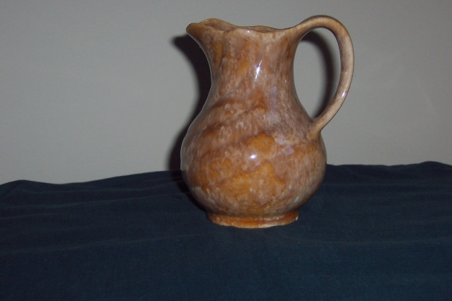 The amazing running glazed 51 jug/vase 46_51_11