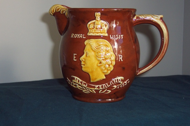 1953 Royal Visit Souvenir Jug Eggcup10
