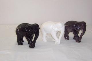 The Crown Lynn 153 shape Elephants Manos117