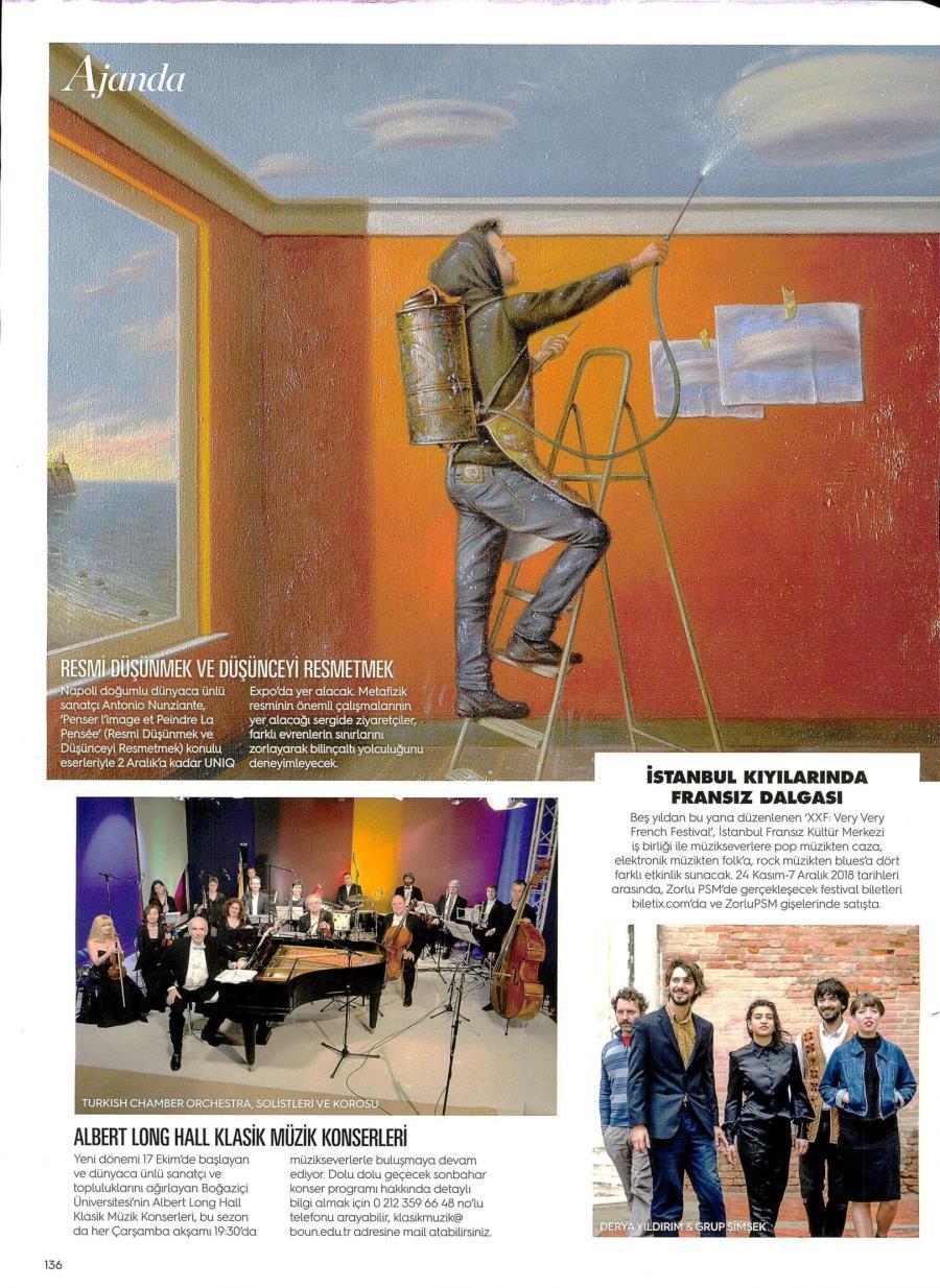 Nunziante, Picasso, Mirò, UNIQ MUSEUM, ISTANBUL 2/10 - 2/12/2018 A10
