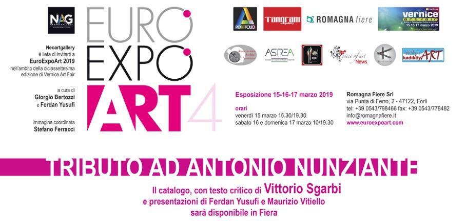 TRIBUTO AD ANTONIO NUNZIANTE 15-17/03/2019 FORLÌ Euroex10