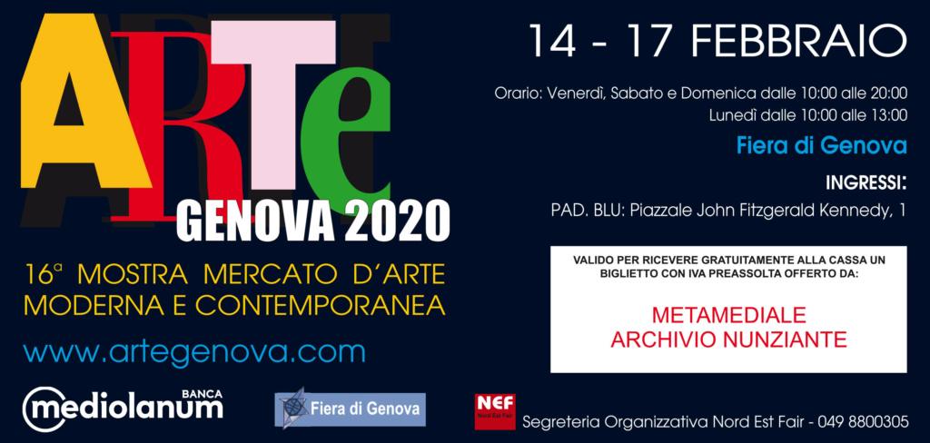 NUNZIANTE ad Arte Genova 14-17 Febbraio 2020 Metame10