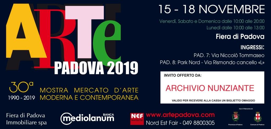 NUNZIANTE ad Arte Padova 15-18 Novembre 2019 Pd11