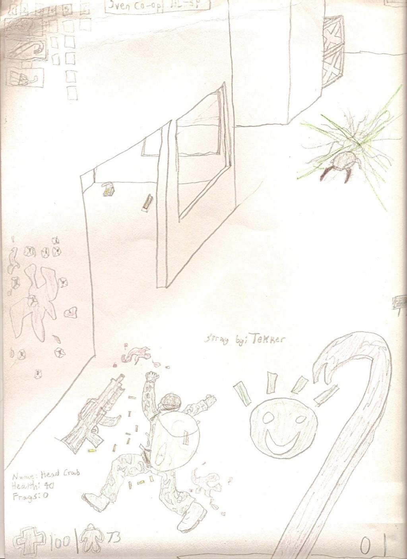 Drawings we done did drawed. Scan0012
