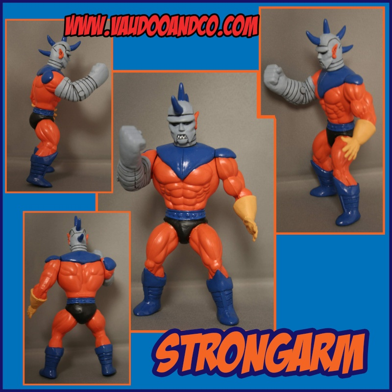 "[Custom]  Strongarm ""MOTU"". Finico10"