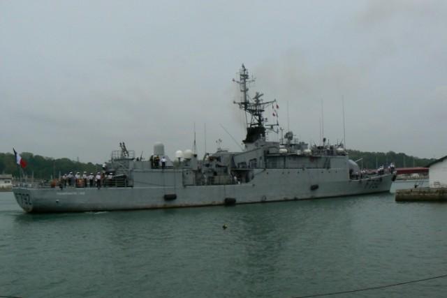 [VIE DES PORTS]  BAYONNE journée portes ouvertes de la base navale de l'Adour P1080614