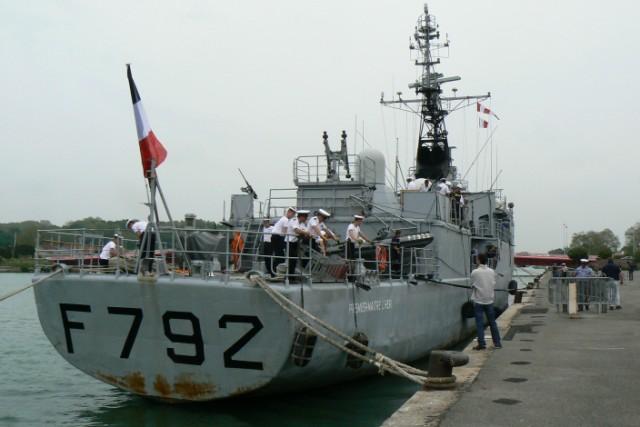 [VIE DES PORTS]  BAYONNE journée portes ouvertes de la base navale de l'Adour P1080616