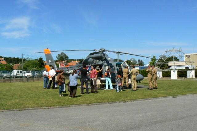 [VIE DES PORTS]  BAYONNE journée portes ouvertes de la base navale de l'Adour P1080618