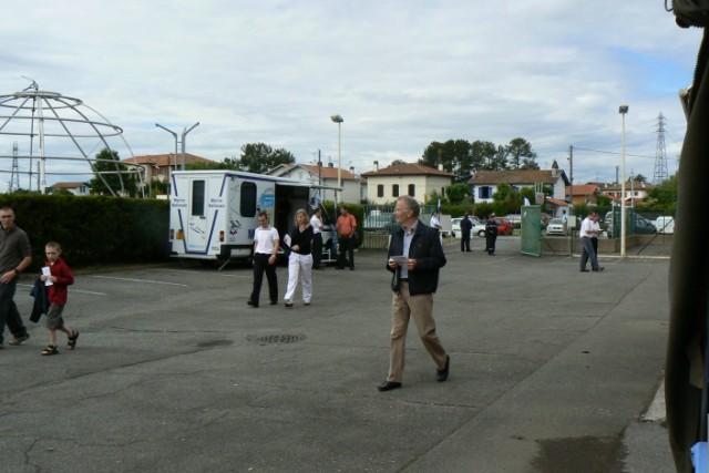 [VIE DES PORTS]  BAYONNE journée portes ouvertes de la base navale de l'Adour P1080620
