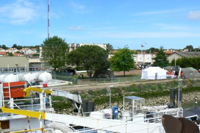 [VIE DES PORTS]  BAYONNE journée portes ouvertes de la base navale de l'Adour P1080621