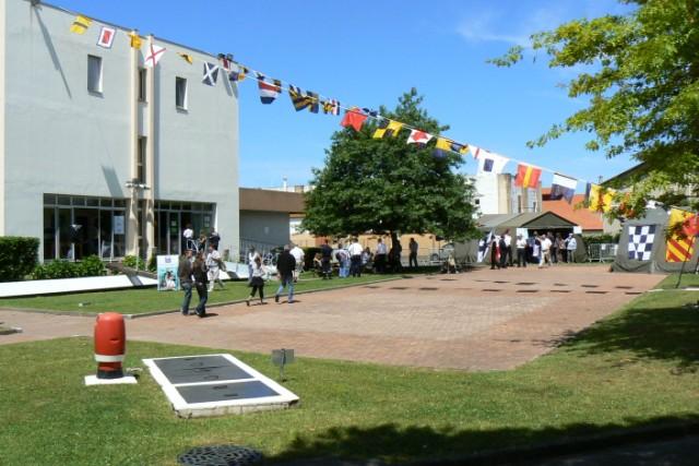 [VIE DES PORTS]  BAYONNE journée portes ouvertes de la base navale de l'Adour P1080623