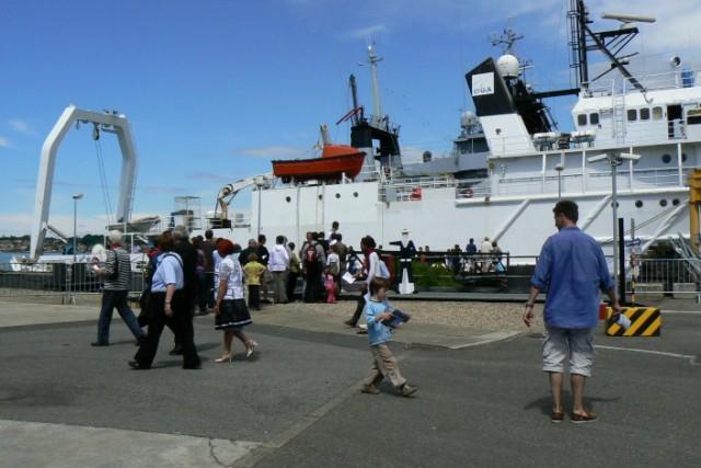 [VIE DES PORTS]  BAYONNE journée portes ouvertes de la base navale de l'Adour P1080624