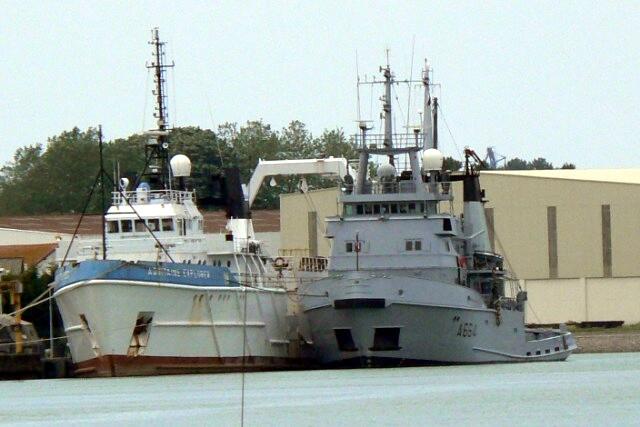 [VIE DES PORTS]  BAYONNE journée portes ouvertes de la base navale de l'Adour P1080635