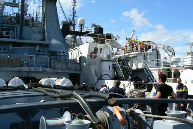 [VIE DES PORTS]  BAYONNE journée portes ouvertes de la base navale de l'Adour P1080636