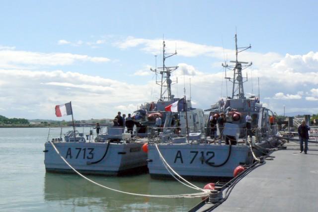 [VIE DES PORTS]  BAYONNE journée portes ouvertes de la base navale de l'Adour P1080639