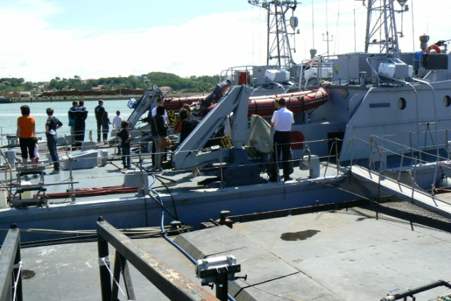 [VIE DES PORTS]  BAYONNE journée portes ouvertes de la base navale de l'Adour P1080641