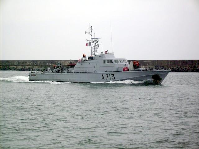 [VIE DES PORTS]  BAYONNE journée portes ouvertes de la base navale de l'Adour Patrou10