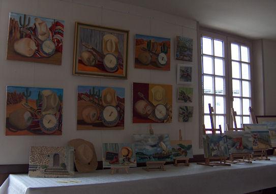 Exposition des ateliers en juin 2009 Cunaul10