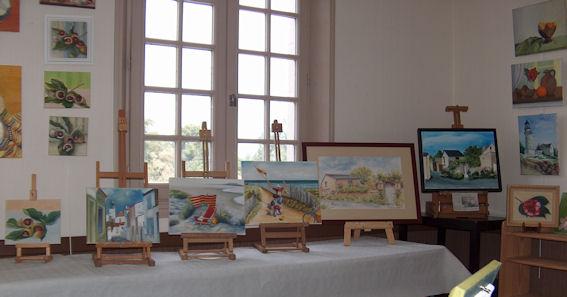 Exposition des ateliers en juin 2009 Cunaul12