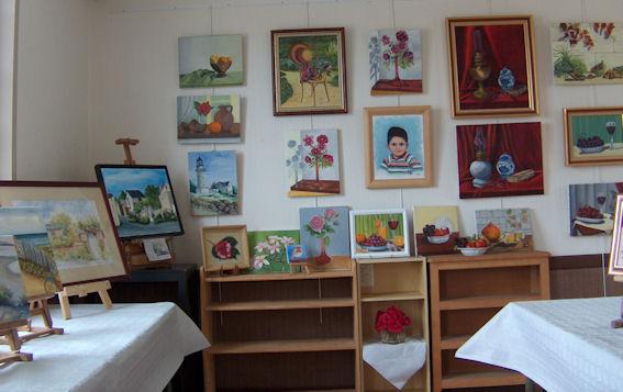 Exposition des ateliers en juin 2009 Cunaul14