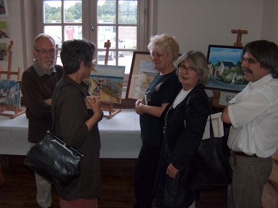 Exposition des ateliers en juin 2009 Cunaul26