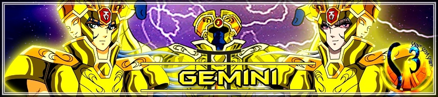 [Concurso] Banner do signo de Gêmeos Gemini13