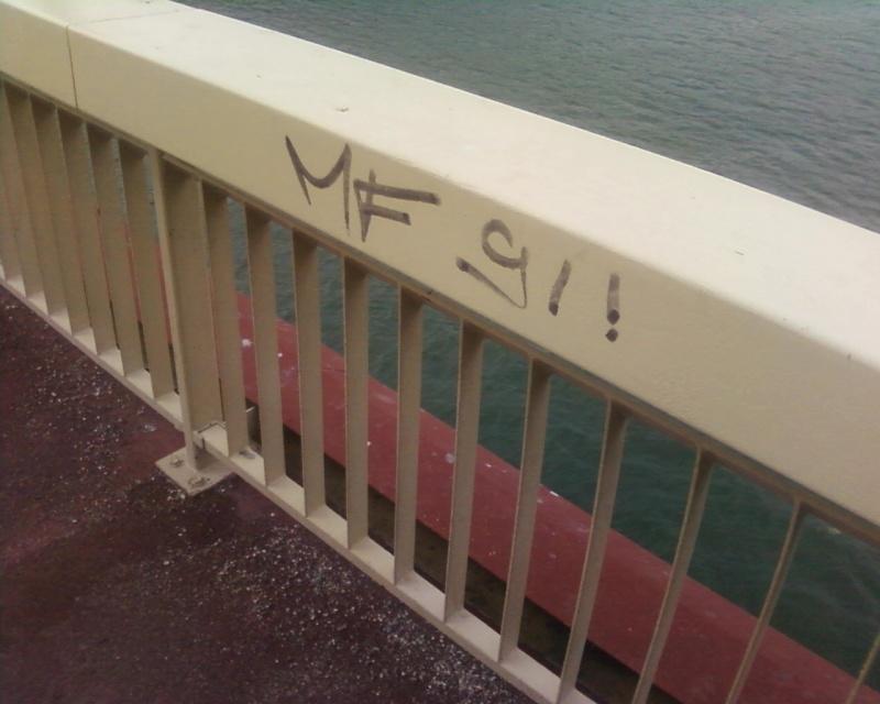 Graffiti et tags ultras Stick10