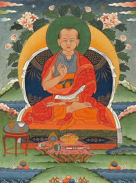 langri thangpa - Langri Thangpa ( 1054 - 1123 ) Art-gl10